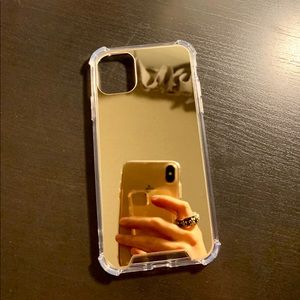 iPhone 11 Gold Mirror Phone Case